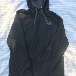 Men's Black North Face Zip Jacket